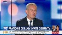 """François de Rugy: """"Si j'avais voulu m'accrocher à mon poste de ministre, je le serais encore"""""""