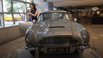 License to sell: James Bond's car goes on display in NYC ahead of auction
