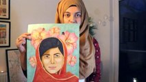 Why Artist Is Painting Pakistani Women in a Book