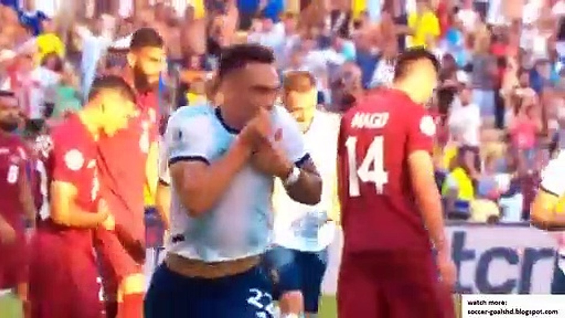Venezuela vs Argentina  All Goals and Extended Highlights 384 x 512