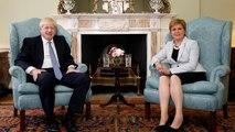 Boris Johnson en Écosse pour promouvoir l'unité du Royaume-Uni