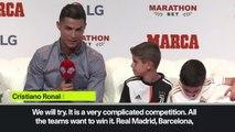 (Subtitled) Ronaldo reveals Champions League ambition with Juventus