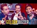 Card Magician Gets GOLDEN BUZZER on Myanmar's Got Talent - Got Talent Global