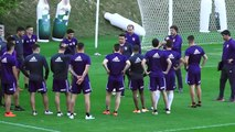 River Plate train ahead of their Copa Libertadores last-16 match with Cruzeiro
