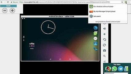 Apkonline android emulator online