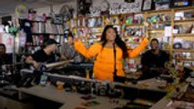 Lizzo Performs 'Truth Hurts' for NPR Tiny Desk Concert | Billboard News