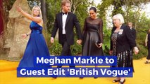 Meghan Markle Gets Involved With British Vogue