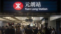 Hong Kong Protesters Cause Commuter Chaos Disrupting Train Service