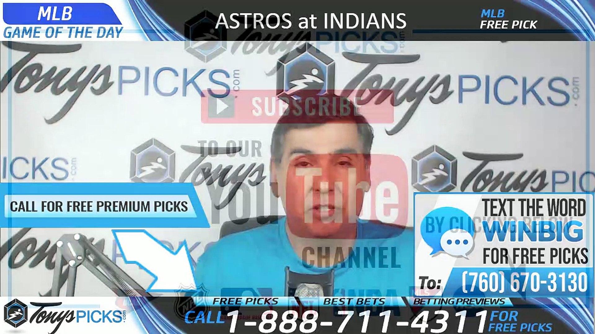 Astros vs Indians MLB Picks 7/30/2019