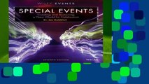 Full E-book  Special Events: Creating and Sustaining a New World for Celebration (The Wiley Event