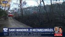 Sécheresse: 25 hectares de forêt ont brûlé dans un incendie à Saint-Mandrier
