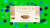 [Doc] Thrive Don t Only Survive: Dr.Geo s Guide to Living Your Best Life Before   After Prostate