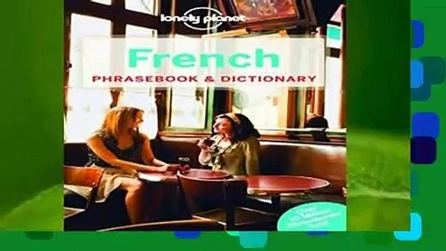 [FREE] Lonely Planet French Phrasebook   Dictionary