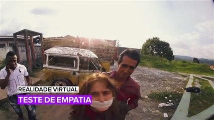 Melhores experiências em Realidade Virtual: Teste de empatia