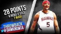 Josh Smith Full Highlights 2015 ECSF Game 4 Hawks vs Celtics - 28 Pts, 7 Blks- - FreeDawkins
