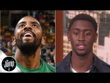 Is Kyrie Irving a bad teammate? Here are Caris LeVert's first impressions - The Jump