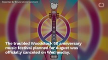 Woodstock 50 Music Festival Cancelled