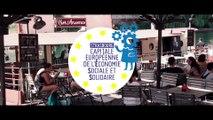 """Strasbourg capitale ESS : le défi  """"boissons fraiches et suspendues"""""""