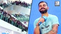 Virat Kohli Visits Oberoi Mall In Mumbai And Fans Go Crazy!