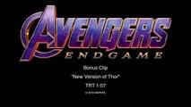 Avengers Endgame BRO THOR Behind The Scenes Bonus Clip