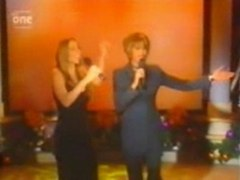 Mariah Carey feat Whitney Houston When you believe live