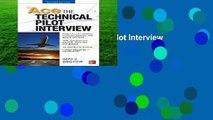 [FREE] Ace The Technical Pilot Interview 2/E