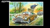 La voiture de James Bond mise aux enchères