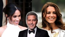 """""""Did I Dance With Meghan Markle - Kate?"""" George Clooney Reveals All About Royal Wedding Reception"""