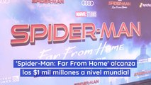 'Spider-Man Far From Home' alcanza los 1 mil millones a nivel mundial