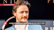 James McAvoy Is Returning To The Theatre