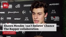 Shawn Mendes Comments On Collab With Chance The Rapper