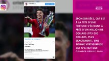 Cristiano Ronaldo : cette somme astronomique qu'il a gagnée grâce à Instagram