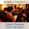 Barack + Michelle's Cutest Moments Over The Years