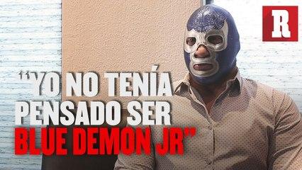 """""""Yo no tome la decisión de ser Blue Demon"""": Blue Demon Jr."""
