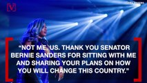 Rapper Cardi B and Bernie Sanders Come Together For Campaign Video
