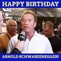 Happy Birthday, Arnold Schwarzenegger!