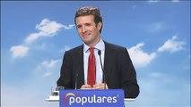 Casado renueva la cúpula del PP y nombra a  Álvarez de Toledo portavoz de los populares en el Congreso