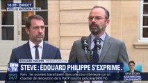 """Selon le rapport de l'IGPN cité par Edouard Philippe, """"il ne peut être établi de lien entre l'intervention des forces de police et la disparition de Steve Maia Caniço"""""""