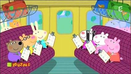 Peppa pig - Le voyage en train
