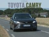 Essai Toyota Camry hybride 218 ch Lounge (2019)