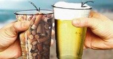 Un verre de bière en échange d'un verre rempli de mégots ? Le drôle de concept d'un bar espagnol afin de nettoyer les plages !
