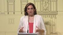 Colau pide a Torra más Mossos y lealtad institucional