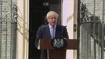 Boris Johnson First Statement as PM