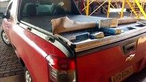 Montana com cigarros é apreendida na 467 com 1.500 pacotes de cigarros