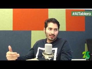 #AlTablero l Sergio Rodríguez y Alberto Arévalo explicando todo acerca de la industria musical.