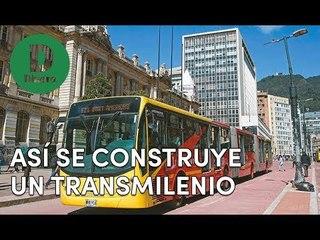 Así se construyen los buses a gas del TransMilenio