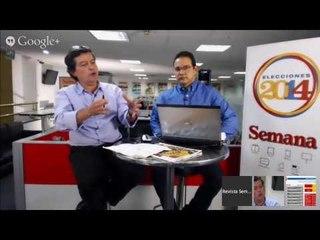 Hangout - Cubrimiento y análisis resultados electorales 2014 con Francisco Miranda