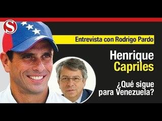 """Henrique Capriles: """"Le pedimos a Petro que respete el dolor de los venezolanos"""""""