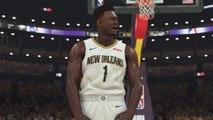 NBA 2K20 Zion Williamson Trailer Gameplay 1st Look-