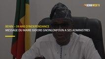 Benin – 59 ans d'indépendance : message du maire Isidore Gnonlonfoun à ses administres